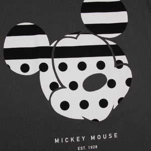 DISNEY STRIPE A DOT MICKEY MOUSE WOMEN'S TANK