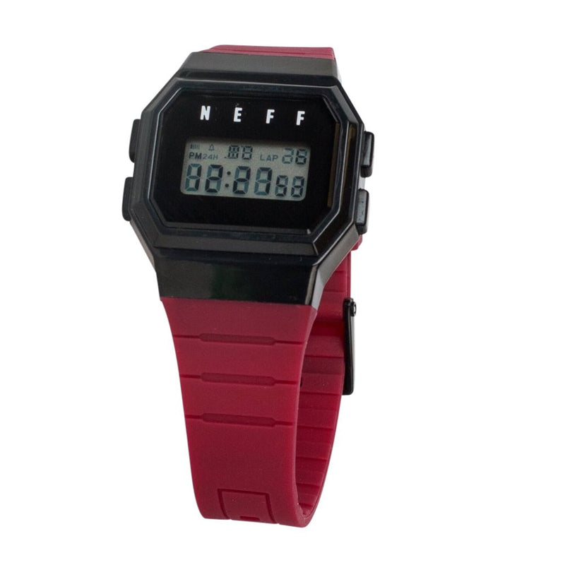 FLAVA WATCH MAROON/BLACK