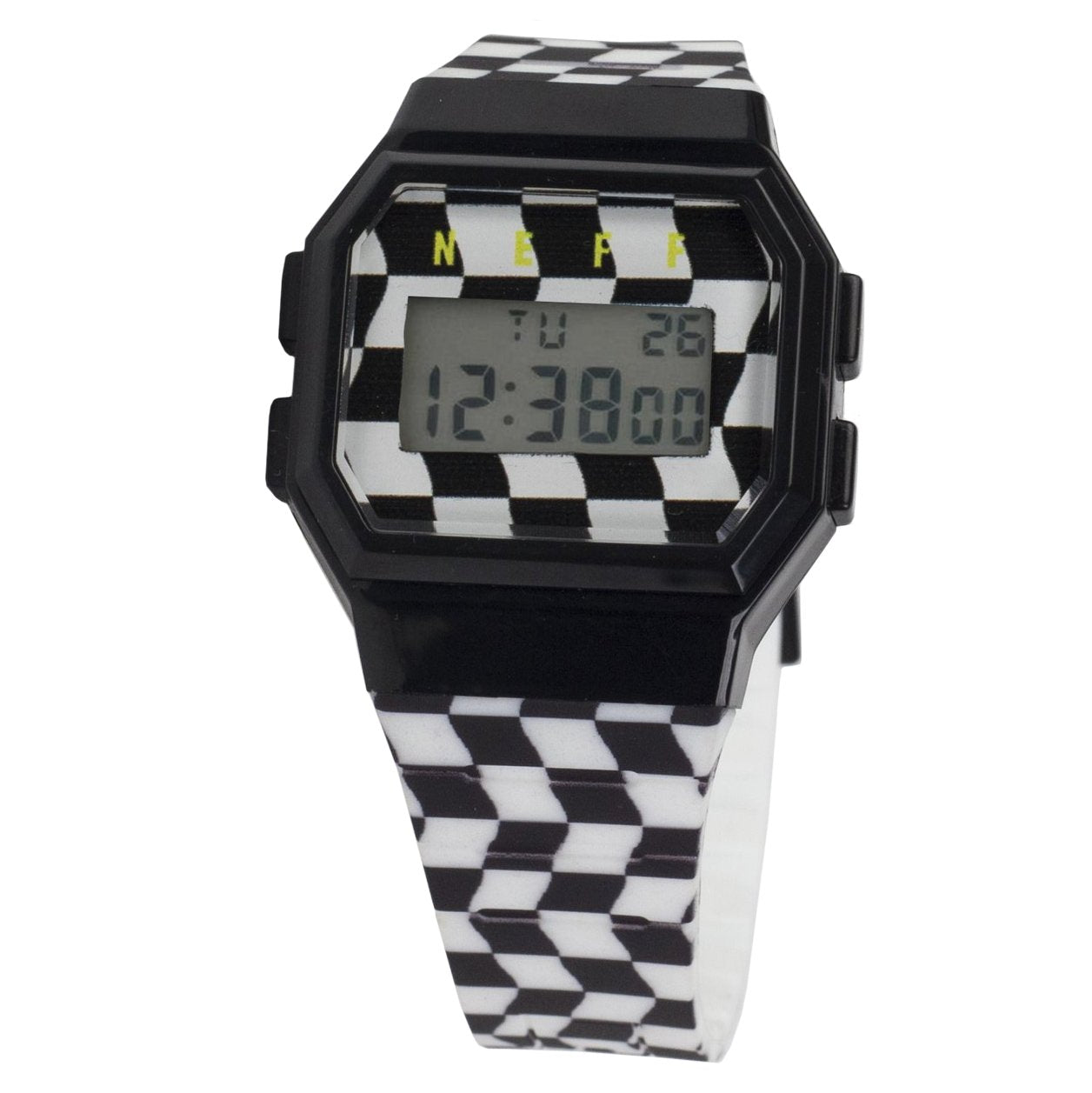 FLAVA WILD WATCH CHECKERS/BLACK