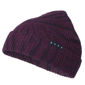 MAROON HEATHER/BLACK WASH