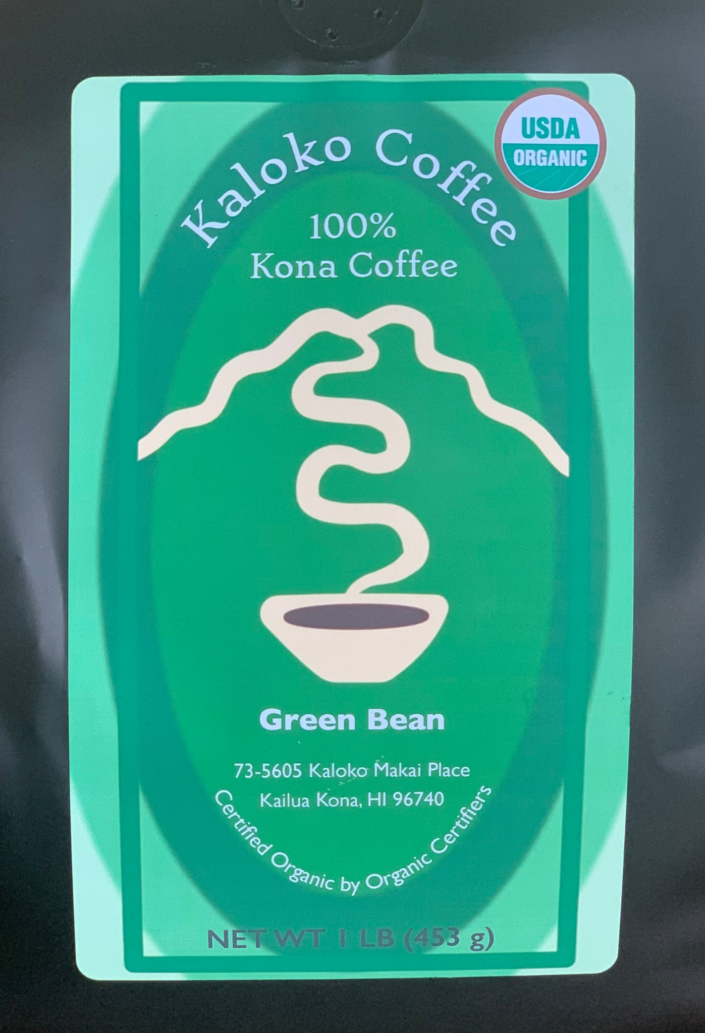 Kaloko Coffee Green Bean