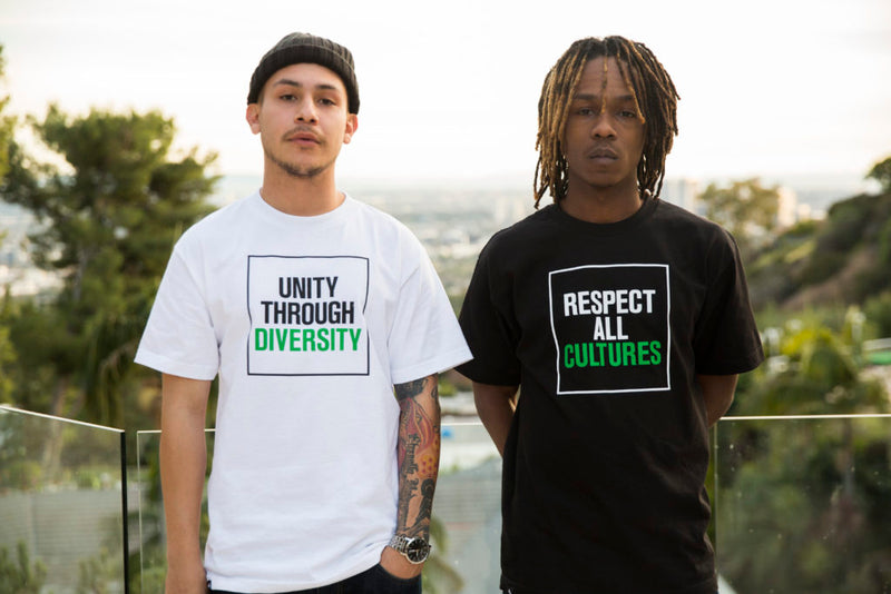 Respect All Cultures / Unity Through Diversity Tees Available Now