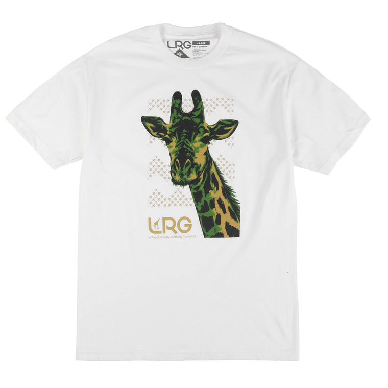 ALL ABOVE IT TEE WHITE