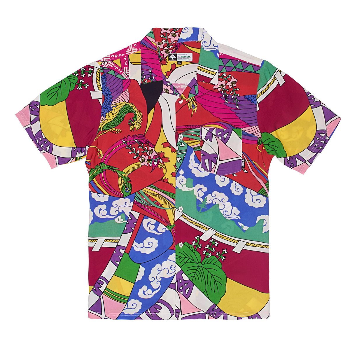 Lrg Paradise Short Sleeve Woven Lrg Clothing
