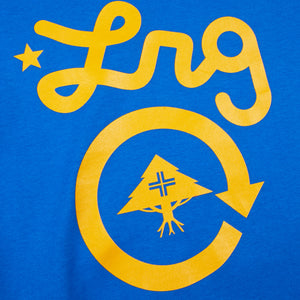 Cycle Logo Tee Royal Blue