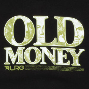 OLD MONEY CREWNECK SWEATSHIRT BLACK