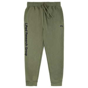 LIFTED SCRIPT JOGGER SWEATPANTS - OLIVINE