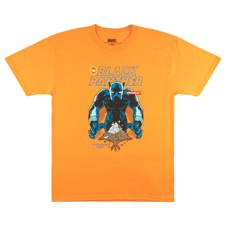 BLACK PANTHER VIBRANIUM! TEE ORANGE