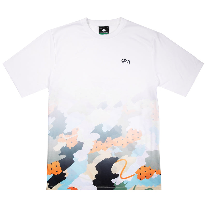 CLOUD 9 KNIT TEE WHITE
