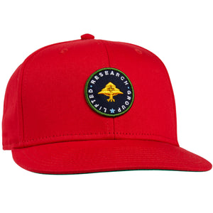 6fa6f36845b Home    Lifted Research Patch Snapback Hat. Salsa. Salsa