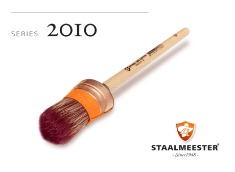 Staalmeester Oval Brush #40