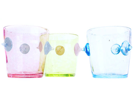 Glassware in Colors