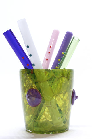 "DING-A-LING STRAWS - GANG OF FIVE (6"" each)"
