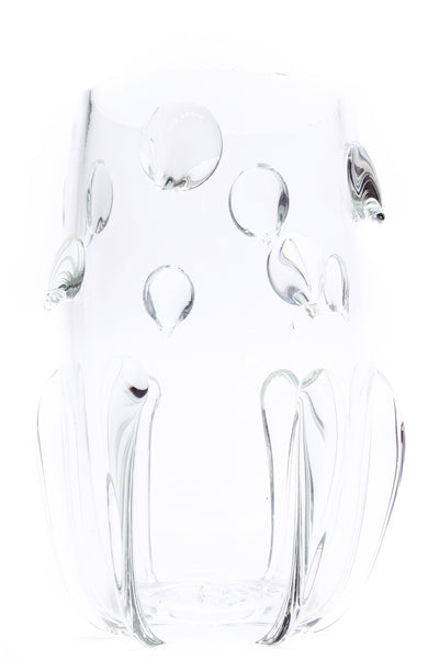 DRIP VASE in Crystal (Medium, Tapered)