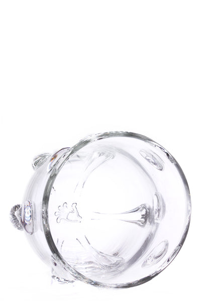 DRIP VASE in Crystal (Medium, Trumpeted)
