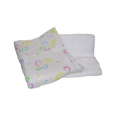 Real Nappies reusable cloth nappies-Muslin Wraps - 2 pack-