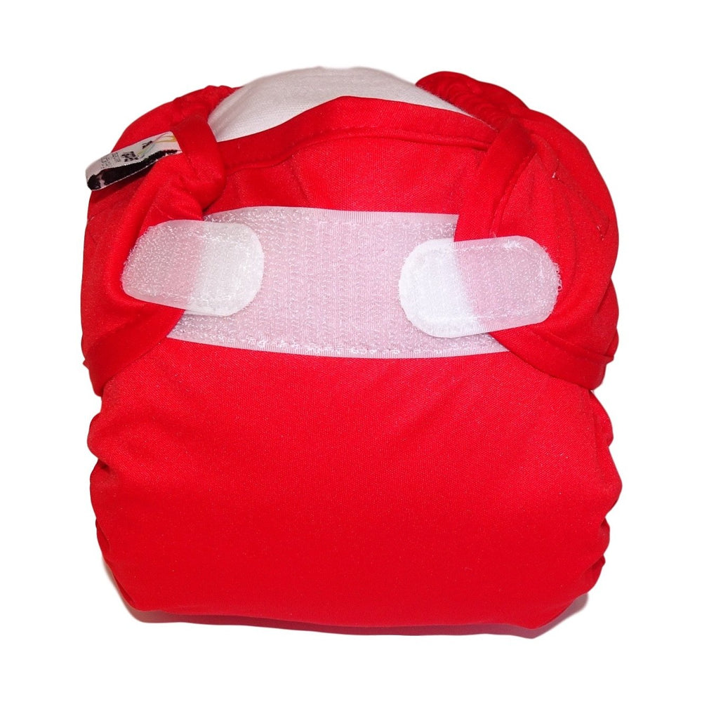 Real Nappies reusable cloth nappies-Snug Wrap Nappy Cover - NEWBORN (2.5-6kg)-Red