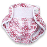 Real Nappies reusable cloth nappies-Splash Wrap Swim Nappy-Red