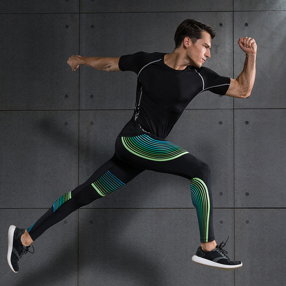 Running Sports Sets Compression. Shirt, Leggings/tights for Running Joggers Gym Fitness Ball games