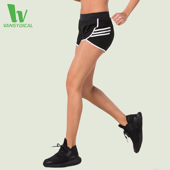 Sports Shorts Female Athletic. With Elastic Waist. And light comfortable feel.