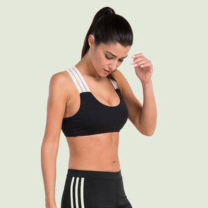 Sports Bra for Workout, Jogging. Shockproof Running function. Perfect for Fitness, Gym, Yoga Bra aso. Anti-sweat.