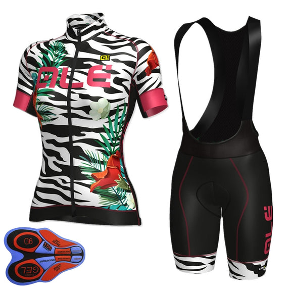 Cycling Jersey Women Short Sleeve Breathable Clothing in 5 Styles
