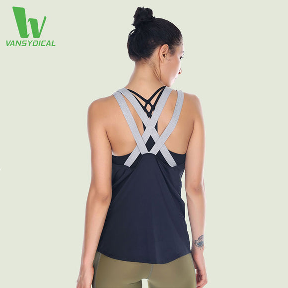 Training tank with Backless Cross back. Lightweight fabric that keeps you cool.