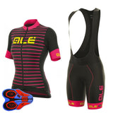 Cycling Set Jersey Women Short Sleeve Breathable Clothing.