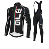 Bicycle clothing with long sleeves from ALE. Quick dry quality.