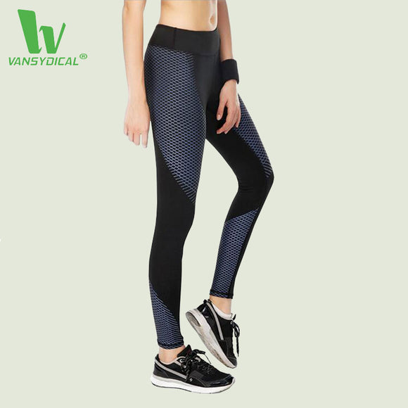 Running/Yoga Slim Fit tights. Elastic Waist Breathable Tights Gym Sportswear.