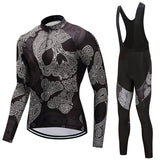FUALRNY 2018 Pro Winter Thermal Fleece Cycling Jersey Set