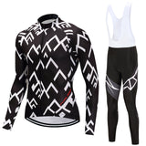 Fual-rny 2018 Spring Long Sleeve Pro Cycling Set