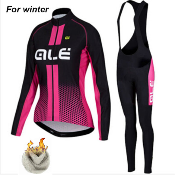 ALE Women Pro Team Thermal Set