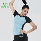 Women's Fitness T-Shirts. Breathable Quick Dry fabric.