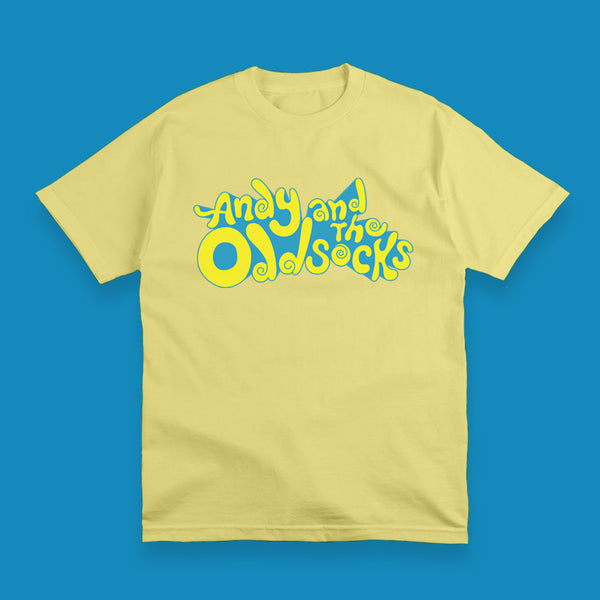 MEN ADULT YELLOW BAND LOGO TEE