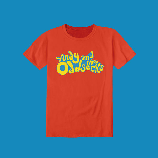 ORANGE BAND LOGO TEE