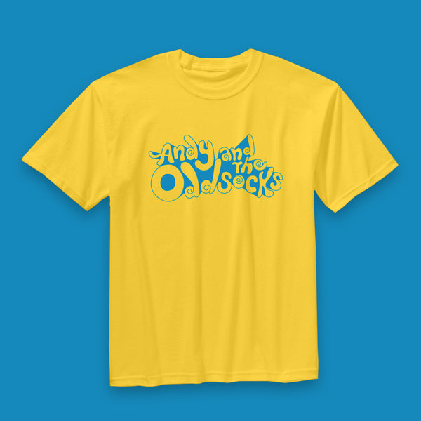 Yellow Band Logo Tee Shirt
