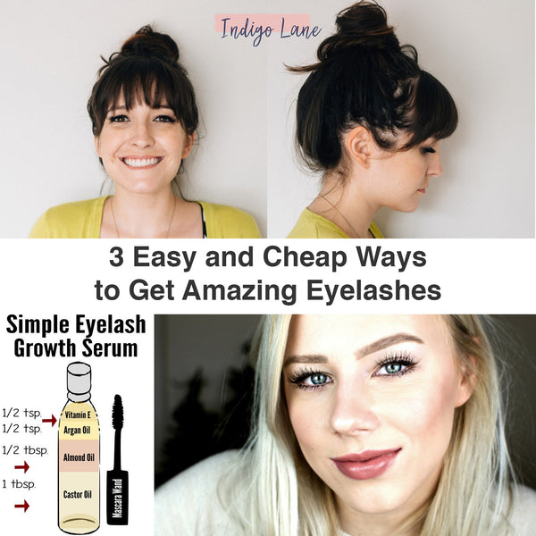 3 Easy and Cheap Ways to get Fabulous Lashes