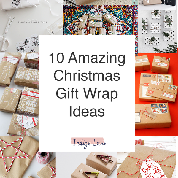 10 Amazing Gift Wrap Ideas for This Christmas