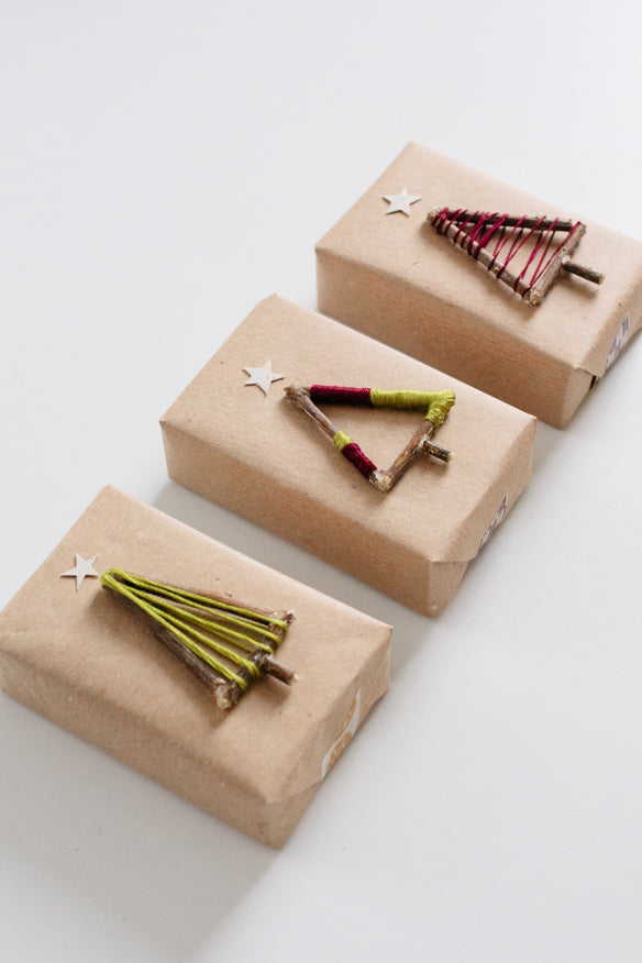 twig tree gift toppers