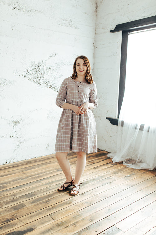 Juliet Checkered Dress