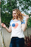 Love America 4th of July Tee