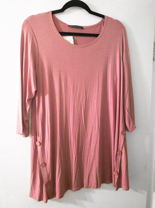 Solid Mauve Tunic