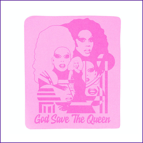 God Save the Queen Fleece Blanket