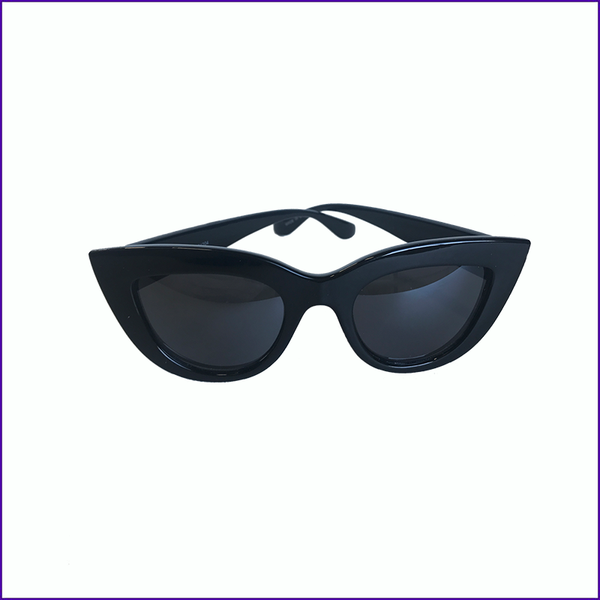 RuPaul logo black sunglasses