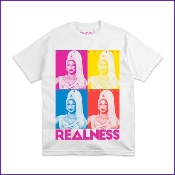 RuPaul realness photo strip tee
