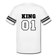King 01 Vintage Sport T-Shirt - white/black