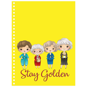 Stay Golden Girls Notebook
