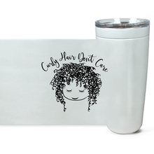 Curly Hair Don't Care 20 oz. Tumbler