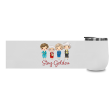 Stay Golden Stemless Wine Tumblers